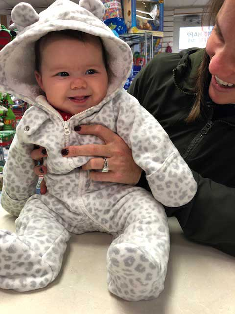 baby clothing and toys