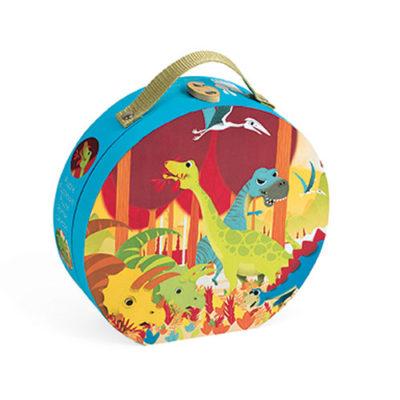 Janod Hat Box Puzzle-Dinosaurs
