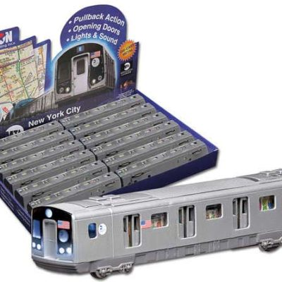 Mta Pullback Subway Car 12 Piece Display