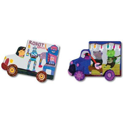 Trucks and Bus Matching Game