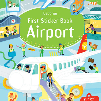 First Sticker Book, Airport
