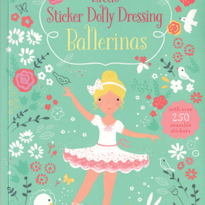 Little Sticker Dolly Dressing Ballerinas