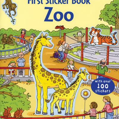 First Sticker Book, Zoo