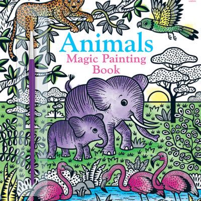 Magic Painting Book, Animals