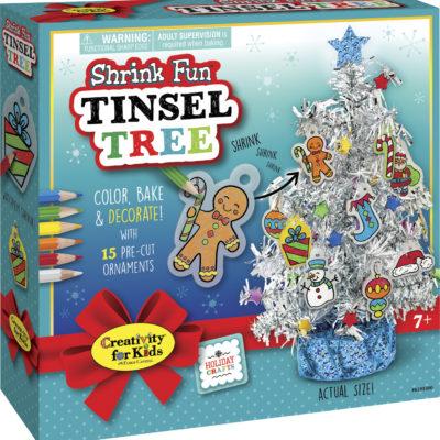 Shrink Fun Tinsel Tree