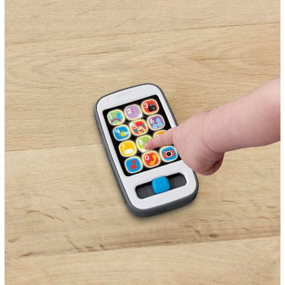 Fisher-Price Laugh & Learn Smart Phone, White