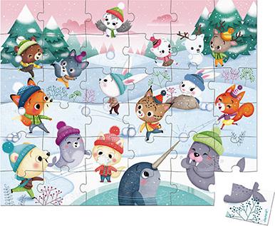 Puzzle Snow Party - 36 Pcs
