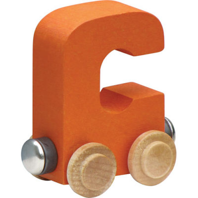 Nametrain Bright Color Letter C