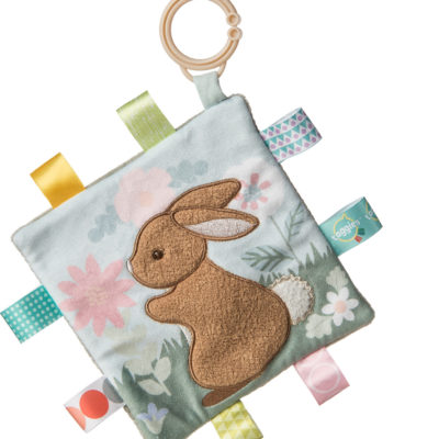 Taggies Harmony Bunny Crinkle Teether - 6x6""