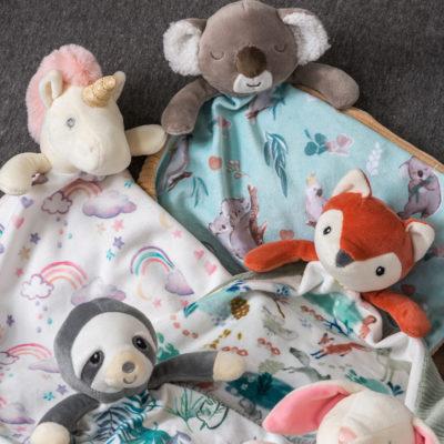 """Little Knottie Down Under Koala Blanket - 10x10"""""""