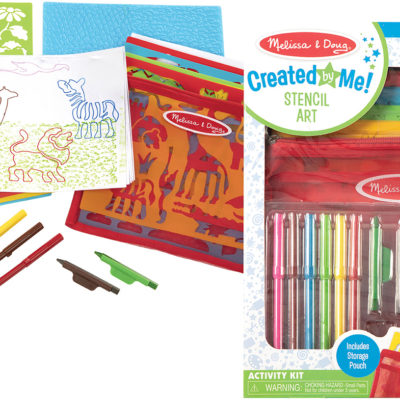 Created by Me! Stencil Art Activity Kit