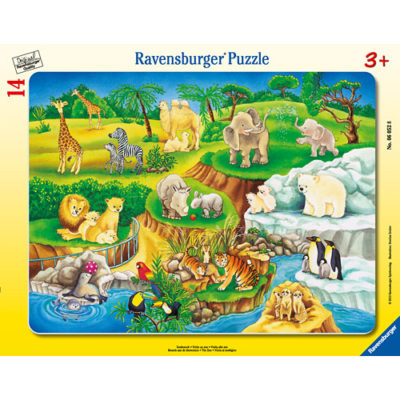 The Zoo (14 pc Puzzle)