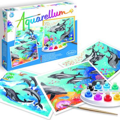 Aquarellum - Dolphins