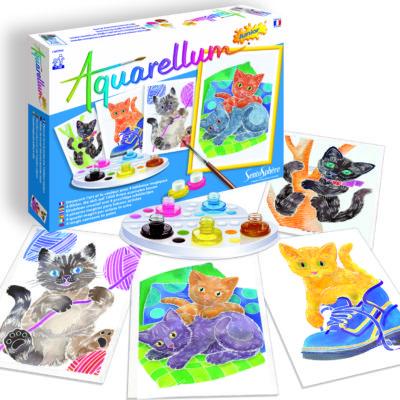 Aquarellum Junior - Kittens