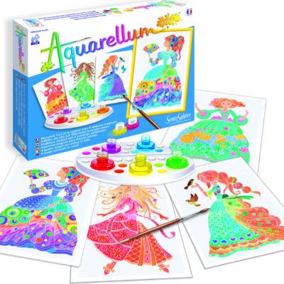 Aquarellum Junior - Flower Princesses