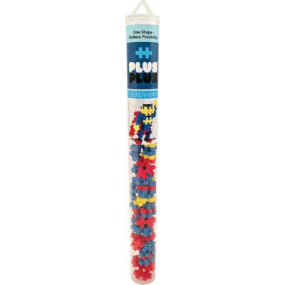 Plus-Plus Superhero Mini Maker Tube