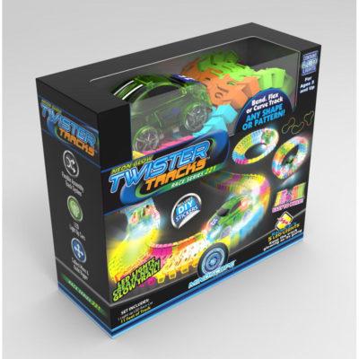 Neon Glow Twister Tracks Race Series 221