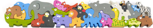 Jumbo Animal Parade A to Z Alphabet & Animal Puzzle