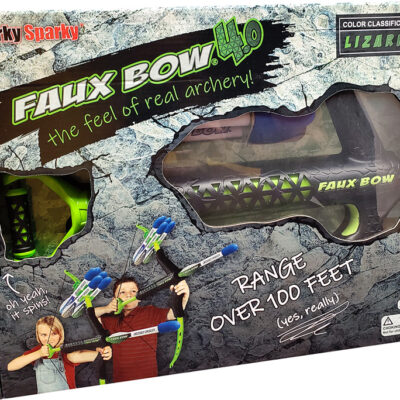 Faux Bow 4.0 - Lizardite Black/Lime