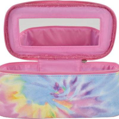 Pastel Tie Dye Cosmetic Case
