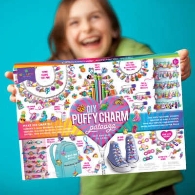 Craft-tastic DIY Puffy Charm Palooza