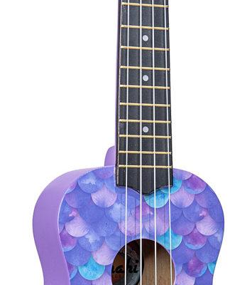 Amahi Ukulele - Purple Mermaid