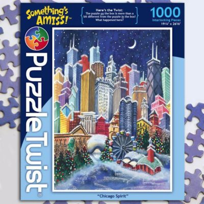 CHRISTMAS PUZZLES (All Ages)