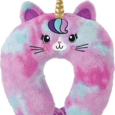 Caticorn Furry Neck Pillow