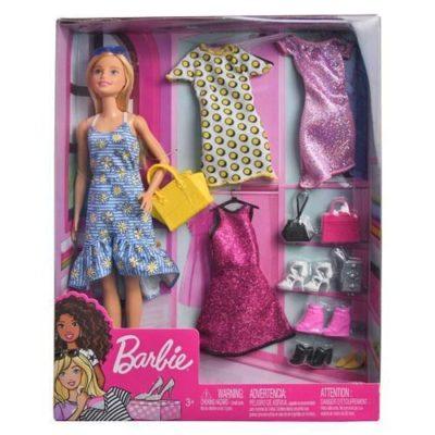 Mattel DP Barbie Doll & Party Fashions