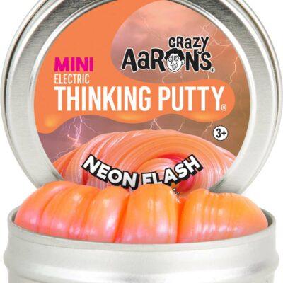 """Neon Flash 2"""" Thinking Putty"""