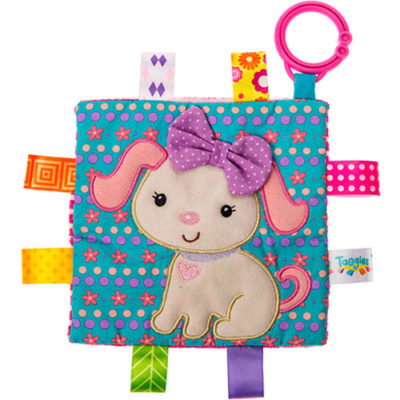 """Taggies Crinkle Me Sister Puppy-6.5x6.5"""""""
