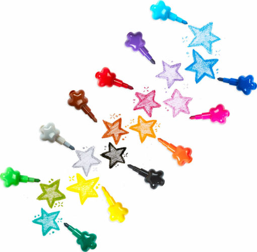 Stacking Star Crayons