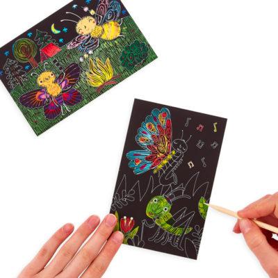Bug Buddies Scratch And Scribble Mini Scratch Art Kit