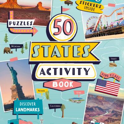 50 States Activity Book