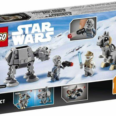 LEGO Star Wars at-at vs. Tauntaun Microfighters