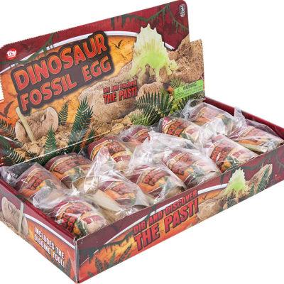 """3"""" Dinosaur Fossil Egg"""
