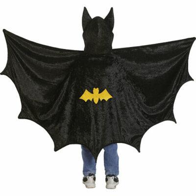 Bat Cape With Hood (black, MD