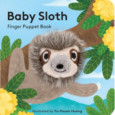 Baby Sloth: Finger Puppet Book: (Finger Puppet Book for Toddlers and Babies, Baby Books for First Year, Animal Finger Puppets)