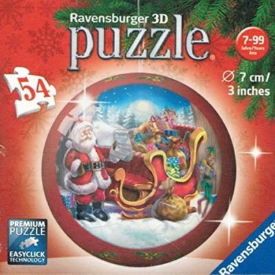Christmas Puzzle Ball