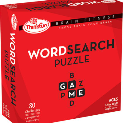 Brain Fitness Word Search Puzzle