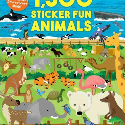 1,500 Sticker Fun Animals
