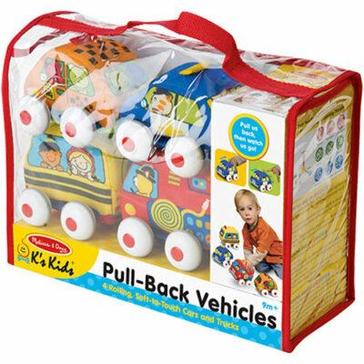 K's Kids Pull-Back Vehicles