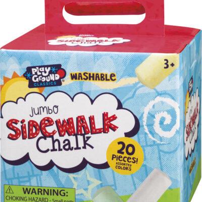 Jumbo Sidewalk Chalk (12)