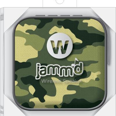 Army Camo - Jamm'D By Watchitude - Bluetooth Speaker