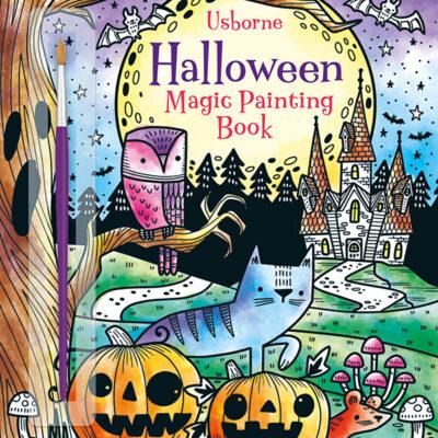 Magic Painting Book, Halloween