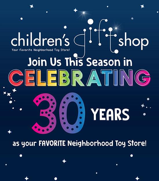celebrating 30 yrs
