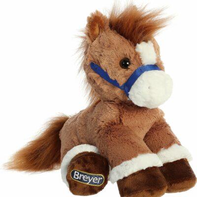 """Aurora Breyer Briddle Buddies 11"""" Chestnut Horse"""