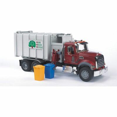 Mack Granite Side-Loading Garbage Truck