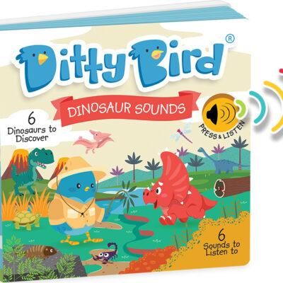 Ditty Bird Baby Sound Book: Dinosaur Sounds