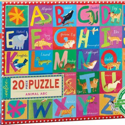 Animal ABC 20 Piece Big Puzzle